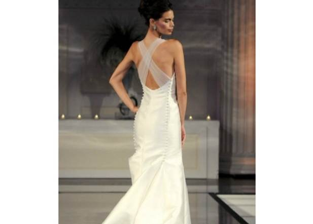 Types of open back dresses corset academy for How to become a wedding dress model