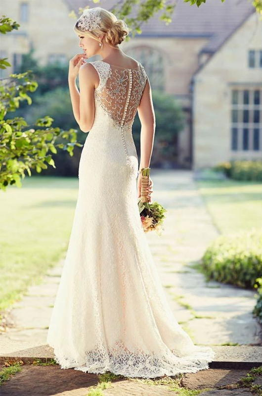 How to make a wedding dress with open back Corset Academy